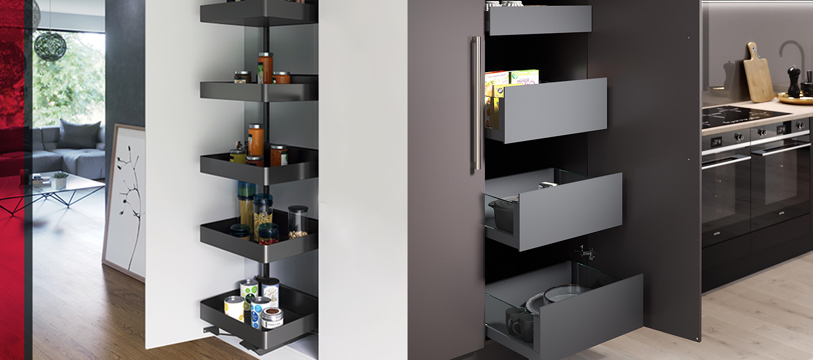 The ultimate slimline storage solution