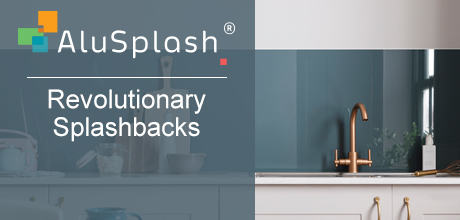 Alusplash - Aluminium Spashbacks - available at Häfele