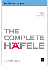 Architectural Hardware – The Complete Häfele