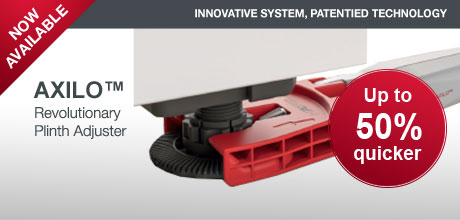 Axilo - Revolutionary Plinth Adjuster