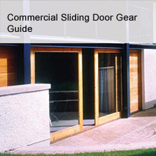 Commercial Sliding Door Gear Guide - Häfele