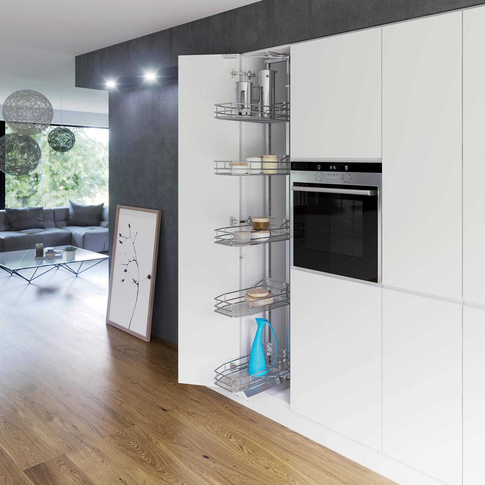 Larder Units from Hafele UK