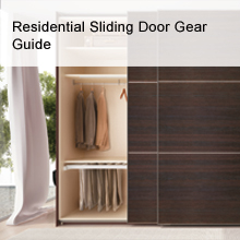 Residential Sliding Door Gear Guide - Häfele
