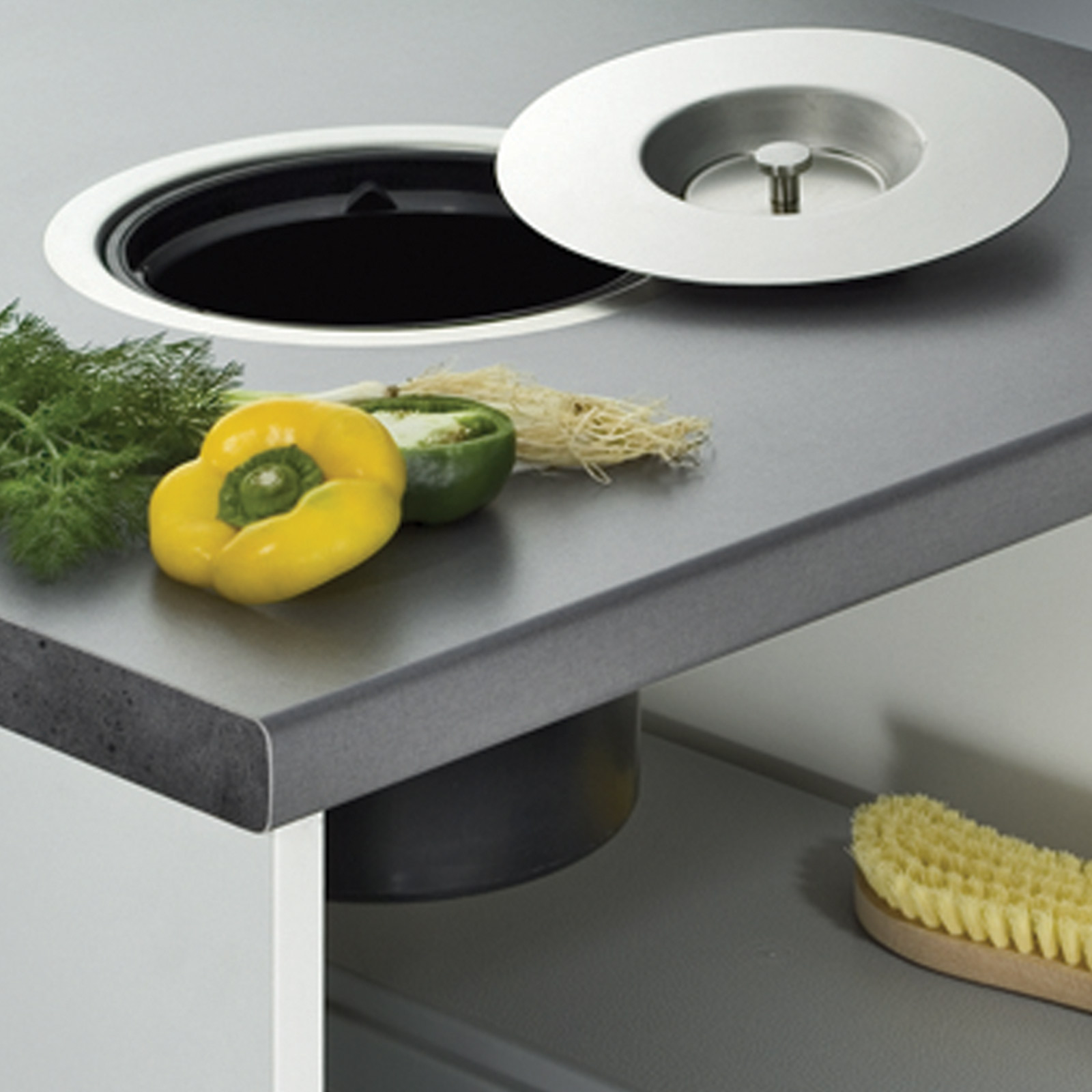 Worktop Mounted Bins