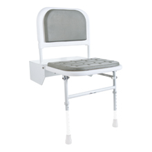 Height Adjustable Shower Seat