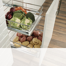 Pull Out Storage from Hafele UK