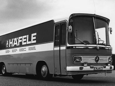 Häfele exhibition bus