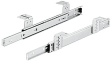 Ball Bearing Keyboard Shelf Runners, Single Extension, Accuride 2109 product photo