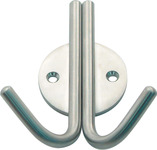 Coat Hook, Stainless Steel, 42 x 99 mm product photo