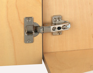 Concealed Cup Hinge, 95° Standard, Sprung, Inset Mounting, Grass product photo