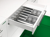 Concealed Drawer Runners, Full Extension, Load Bearing Capacity 40/50/60 kg, Dynapro product photo