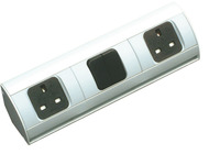Double Socket Outlet, for use with Midway Storage System product photo