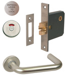 Lever Handle, Indicator and Lock Set, with Large Safety Pattern Lever Handle product photo