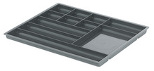 Pen and Pencil Tray, with Eleven Compartments, Plastic product photo