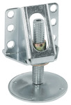 Plinth Adjusting Fitting, Partition Adjuster with Bracket, Steel product photo