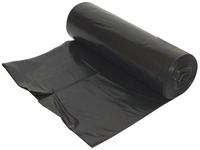 Refuse Sacks, 10 Sack Roll, Black Polythene product photo