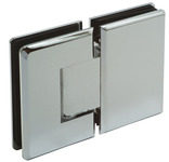 Shower Door Hinge, Glass to Glass Hinge 180° product photo
