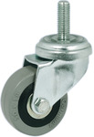 Single Wheel Castor, Swivel, with or without Brake, Wheel Ø 50-75 mm, Plate Fixing product photo