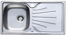 Sink Set, 965 mm, Single Bowl and Drainer with Tap, Häfele Langdale product photo