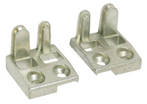 Stud Plate Kit, Combines Night Vent and Shoot Bolt Keep, Diecast Zinc product photo