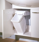 Waste Bin, for Hinged Cabinet Doors product photo