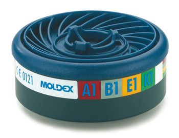 A1B1E1K1 Replacement Gas Filter, for Moldex Half Mask Respirator