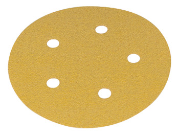 Abrasive Disc, Ø 125 mm, 5 Holes, Velcro Backing, Mirka
