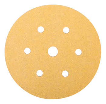 Abrasive Disc, Ø 150 mm, 6+1 Holes, Velcro Backing, Mirka