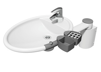 Accessory Kit, for Swing Washbasin, Ropox