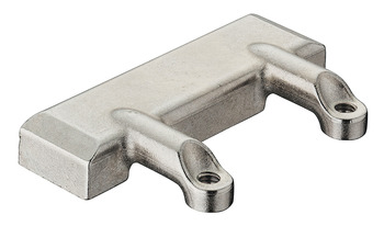 Adapter, for Flaps with 20 mm Aluminium Frame, Zinc Alloy