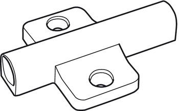 Adapter Housing for Tipmatic, for 32 mm Series Drilled Holes