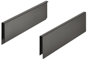 Add on Side Panels, for Height Extensions, for Matrix Box P Drawer Systems
