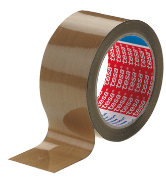 Adhesive Tape, Solvent Rubber, Roll 66 m, Tesa®