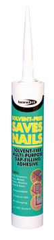 Adhesive, Tube 310 ml, Solvent Free Saves Nails