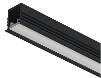 Aluminium Profile, for Recess Mounting Loox5 LED Flexible Strip Lights, 1104