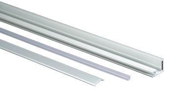 Aluminium Profile Set, for 4 mm Glass Thickness
