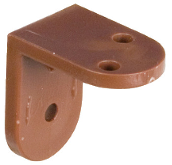 Angled Bracket, Screw Fixing, Plastic