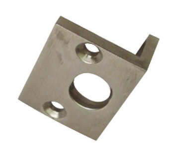 Angled Striking Plate, to Suit Straight Barrel Bolts