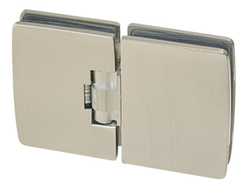 Automatic Glass Door Hinge, Glass to Glass Hinge 180°, Fernando