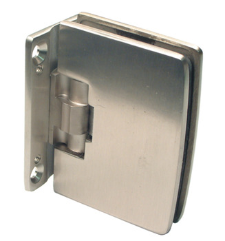 Automatic Glass Door Hinge, Glass to Glass Hinge, Metalglas, Fernando