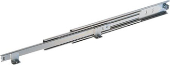 Ball Bearing Drawer Runners, Full Extension, Base Mounted, Load Capacity 58-60 kg, Accuride 5517-60