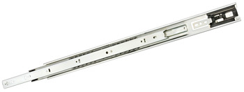 Ball Bearing Drawer Runners, Full Extension, Black or White Finish, Accuride 3832TR Touch Release