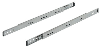Ball Bearing Drawer Runners, Full Extension, Load Capacity 12-30 kg, Accuride 2601