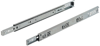 Ball Bearing Drawer Runners, Single Extension, Load Capacity 30-35 kg, Accuride 2132