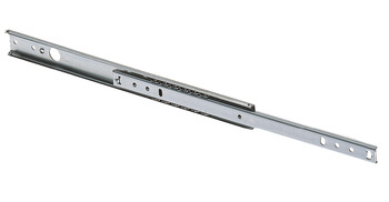 Ball Bearing Grooved Drawer Runners, Single Extension, Load Capacity 12 kg