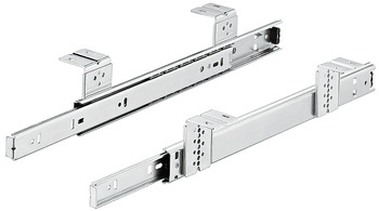 Ball Bearing Keyboard Shelf Runners, Single Extension, Accuride 2109