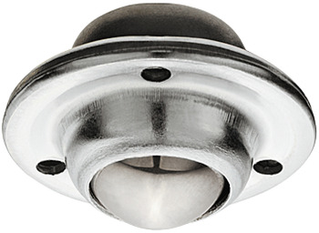 Ball Castor, without Brake and Swivel, Ø 13-25 mm