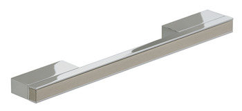 Bar Handle, Aluminium, Fixing Centres 192-256 mm, Enza