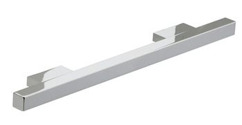Bar Handle, Aluminium, Fixing Centres 192-480 mm