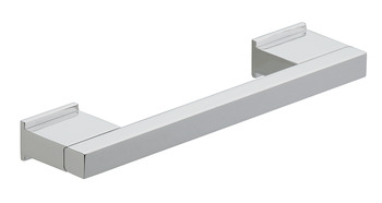 Bar Handle, Aluminium, Fixing Centres 320-512 mm